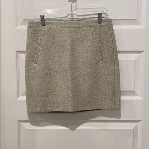 J. Crew Wool Skirt - Size 8